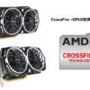 crossfire GPU2枚セット